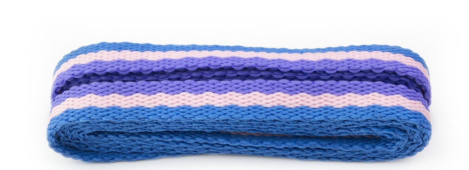 Sneaker Lilac/pink/blue Stripe