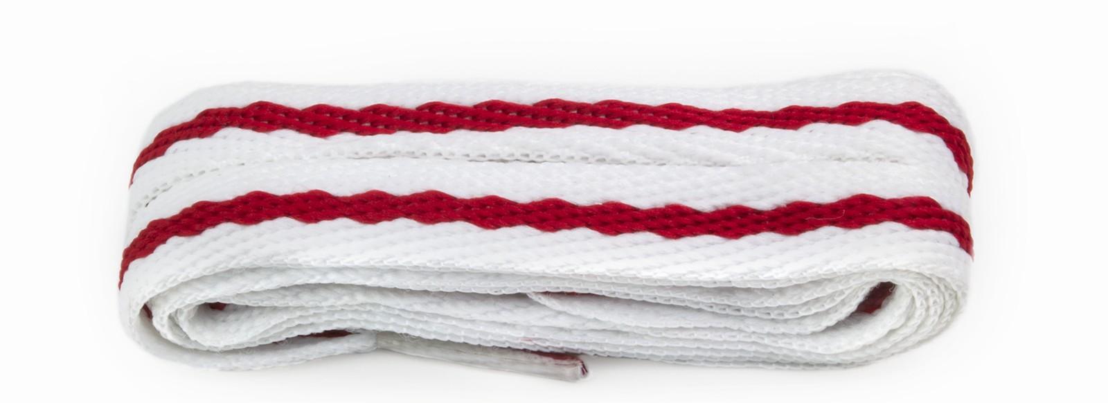 Fashion White & Red Stripe