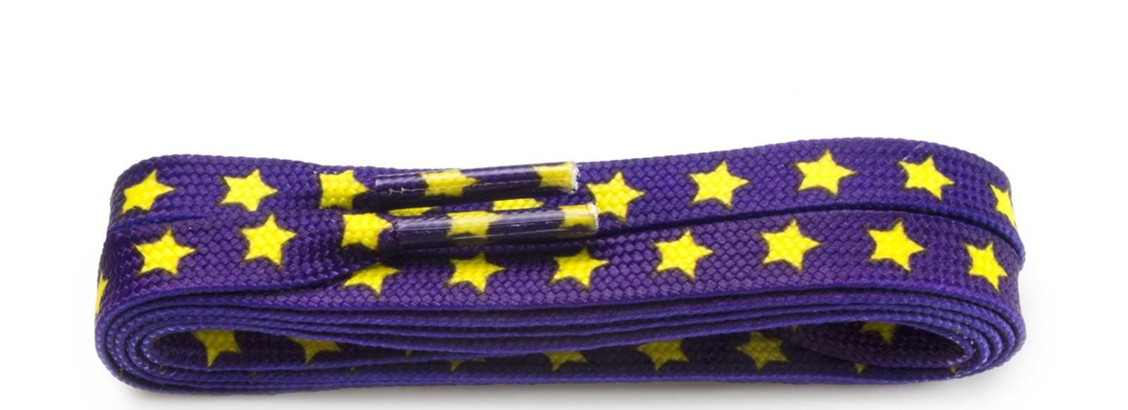 Fashion Purple Yellow Stars