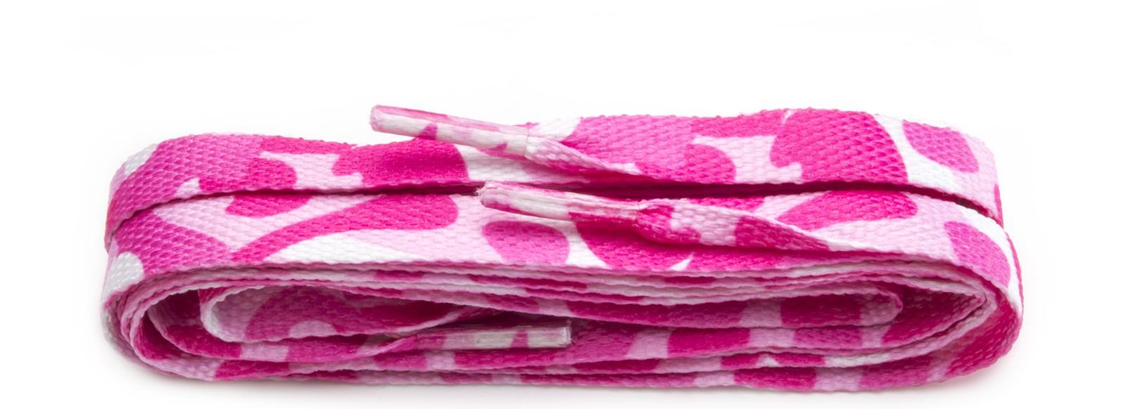 Fashion Pink Camo Printed Narrow