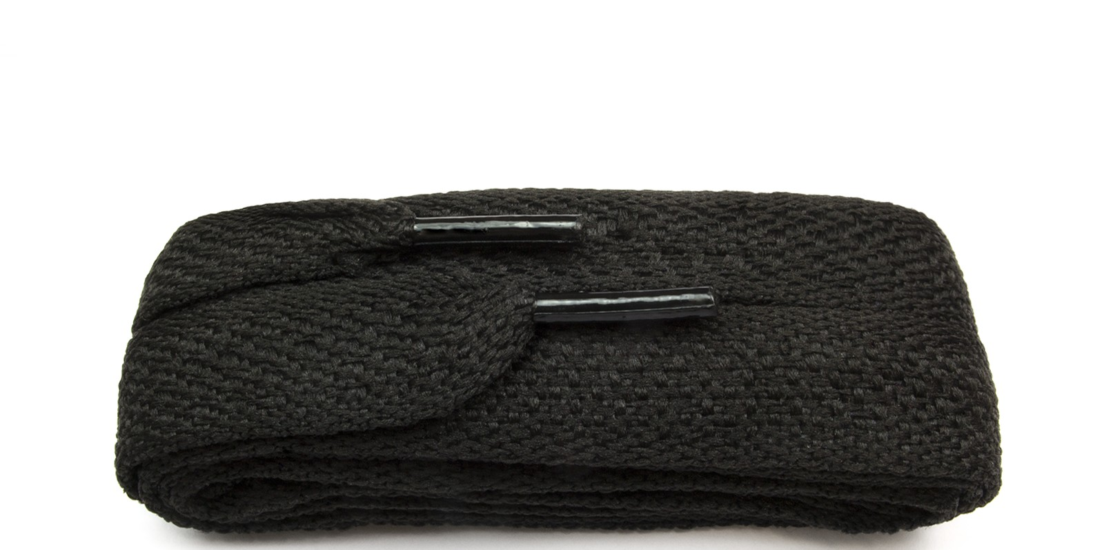 3ab0a39830 Wide Flat Shoelace, Black Supreme 18mm laces | Victor de Banke