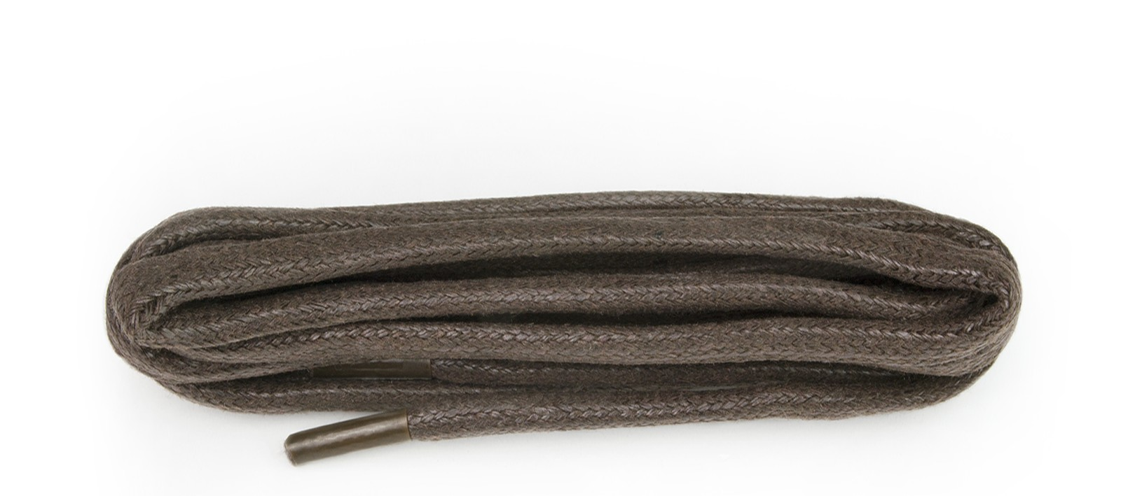 Brown Chunky Wax Laces 5mm