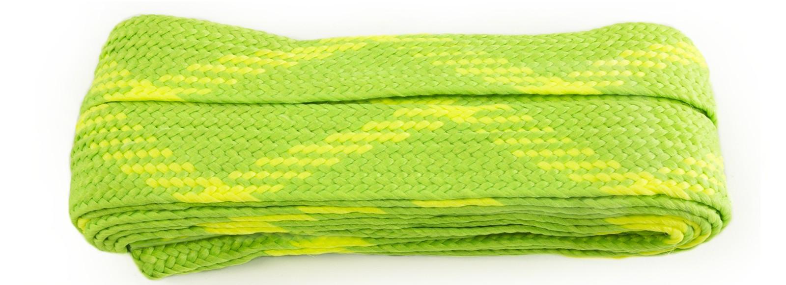 Flo Green/flo Yellow Fat Laces