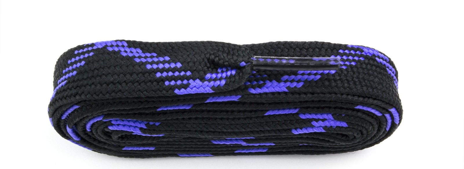 Black/purple Fat Laces