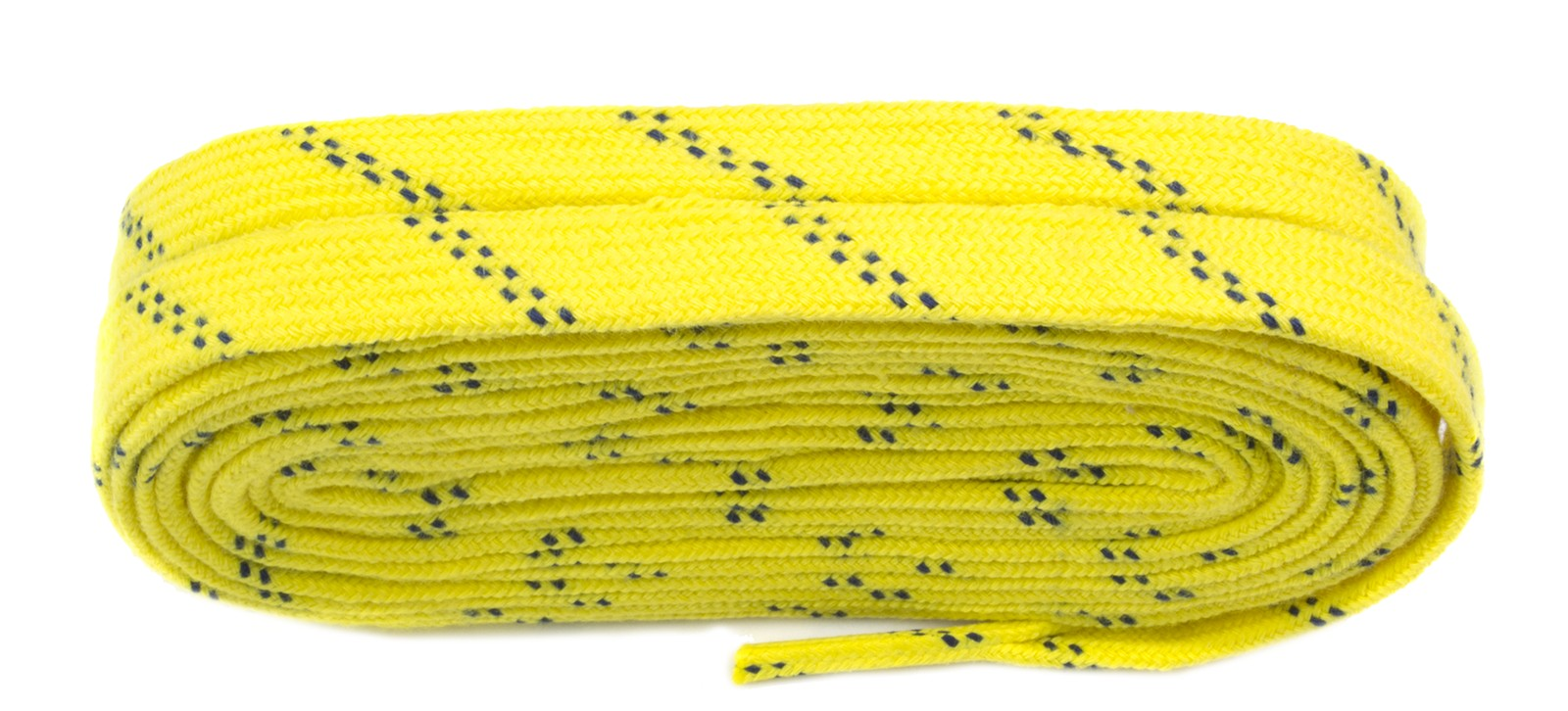Yellow Skate Laces 275cm Wax