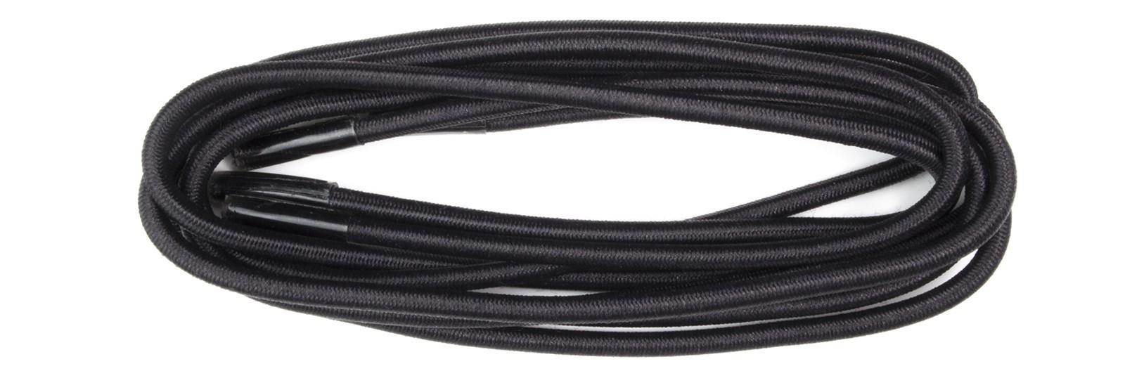 Black 75cm Elastic Round