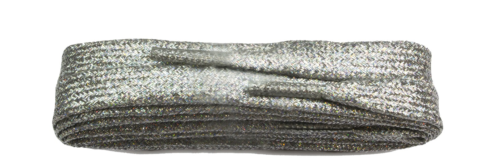 Fashion Silver Metallic 100cm Flat