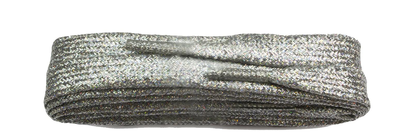 Sneaker Silver Metallic 100cm Flat