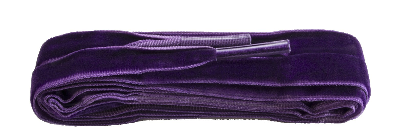 Fashion Velvet Purple Laces