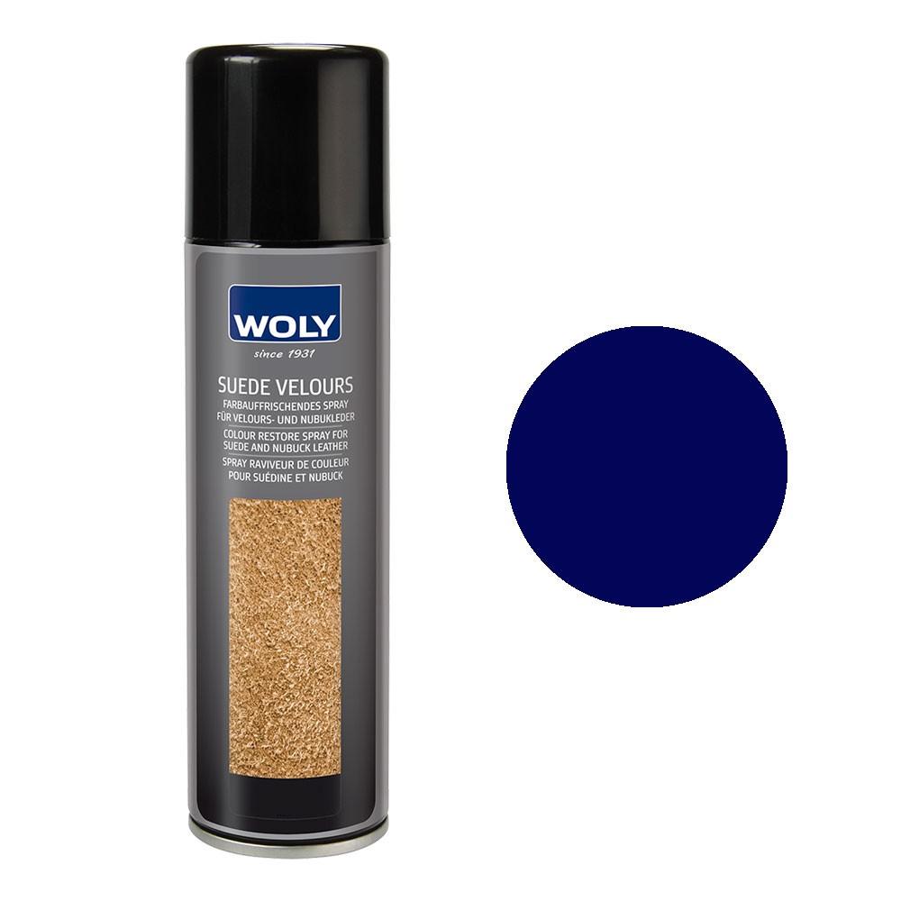 Woly Suede Dark Blue (ocean) 250ml Spray