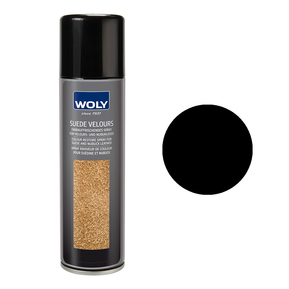 Woly Suede Black 250ml Spray