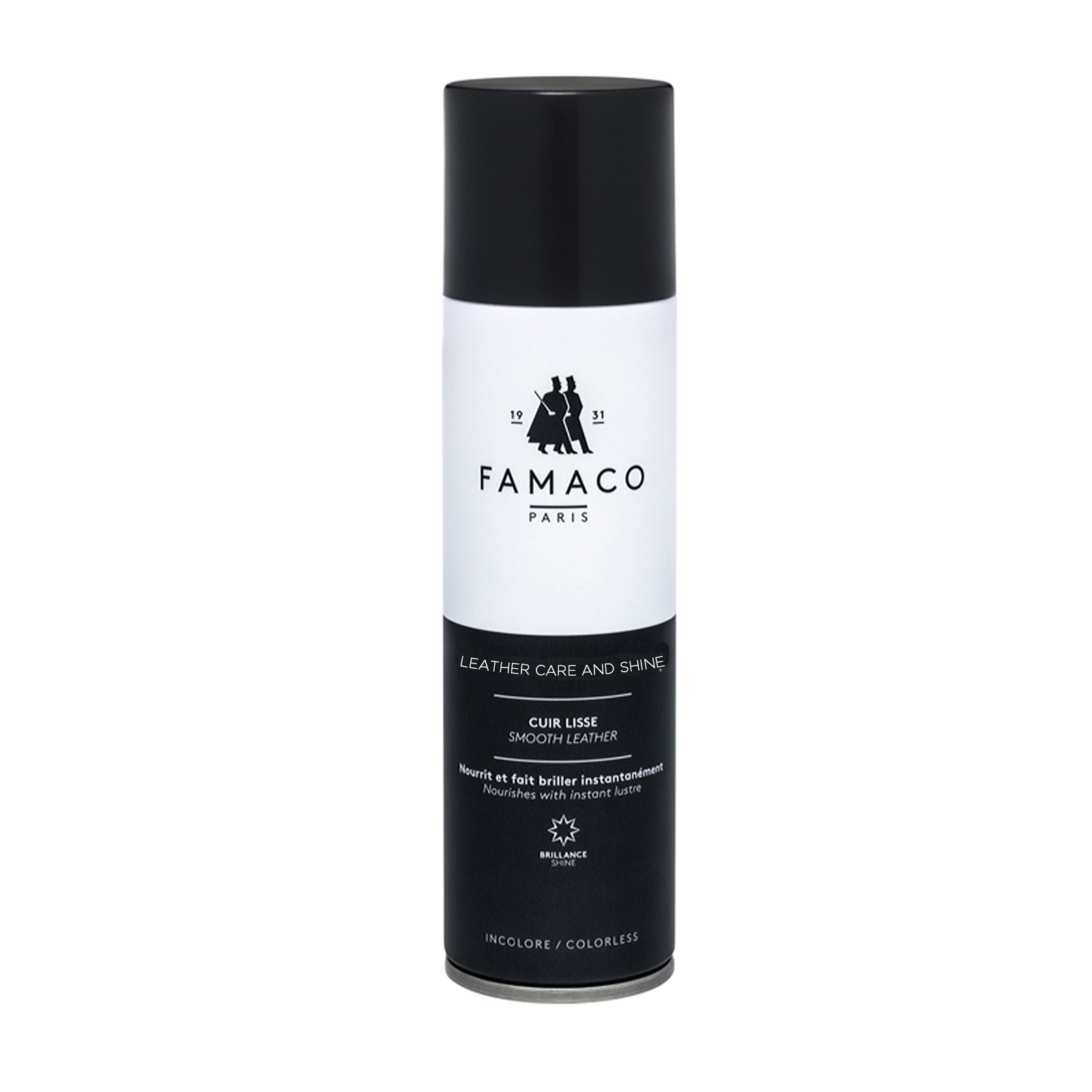 Famaco Leather Care And Shine (clear) 250ml Spray