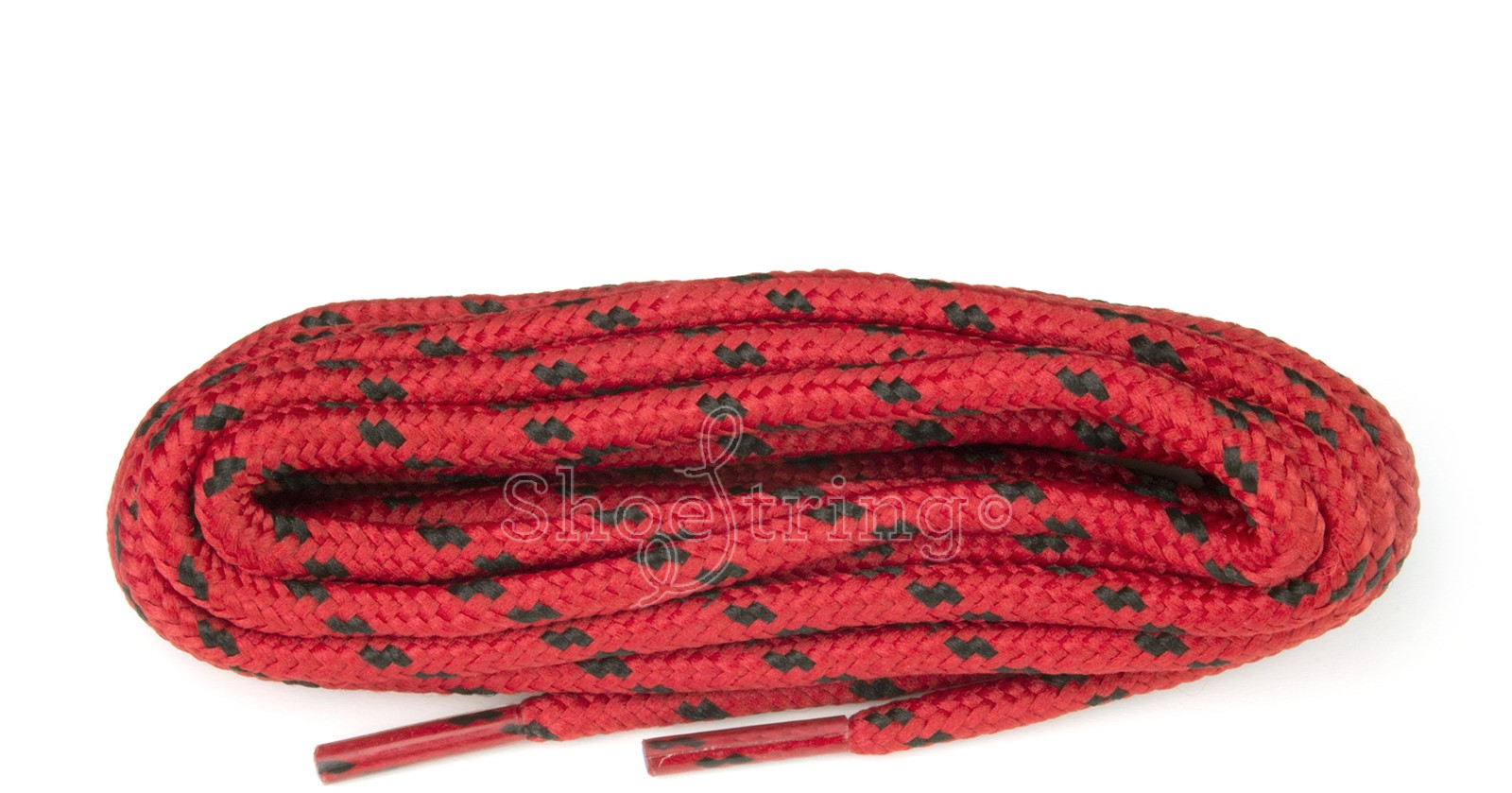 Hiking 150cm Red/black Wide Fleck Laces