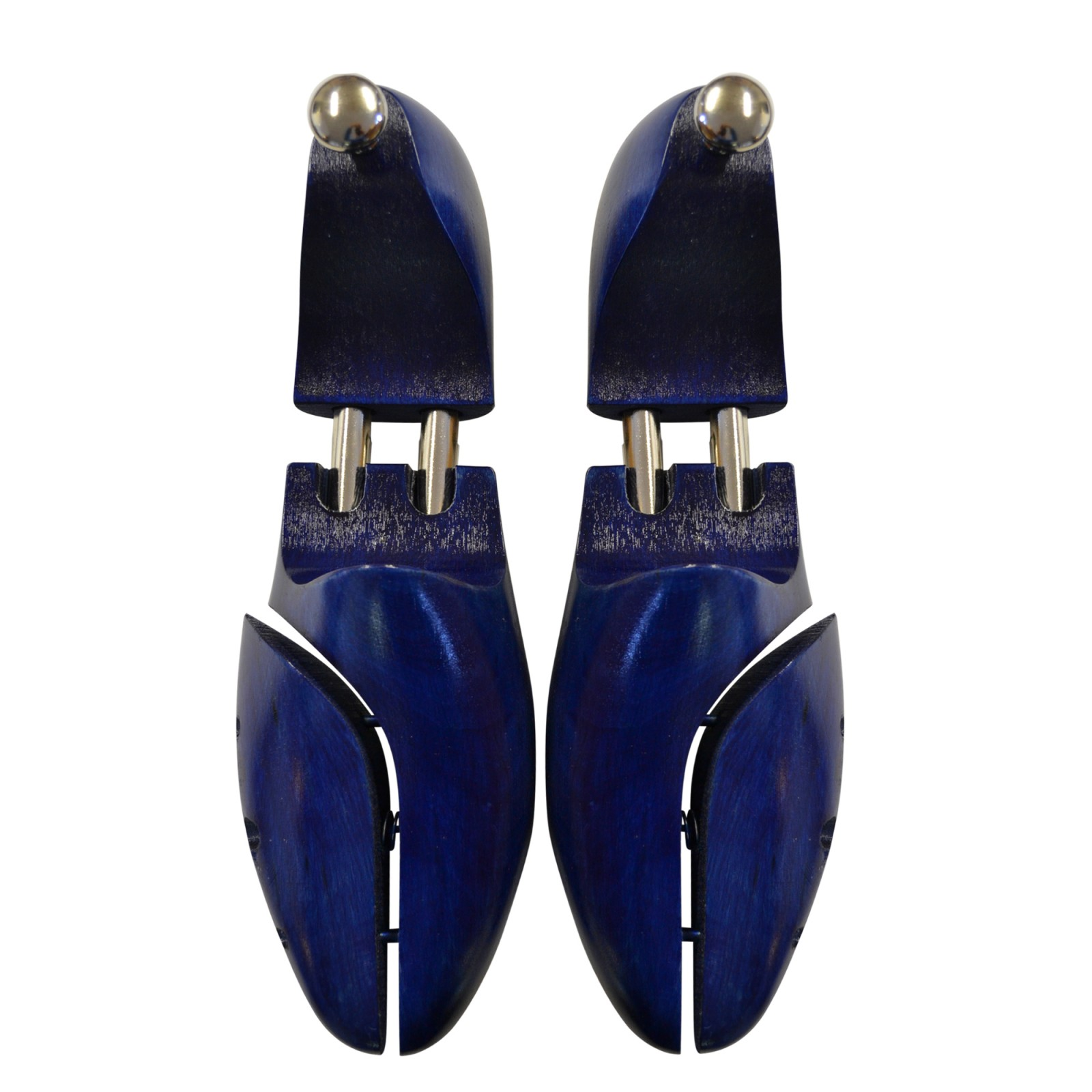 Shoestring Deluxe Blue Beechwood Shoe Trees
