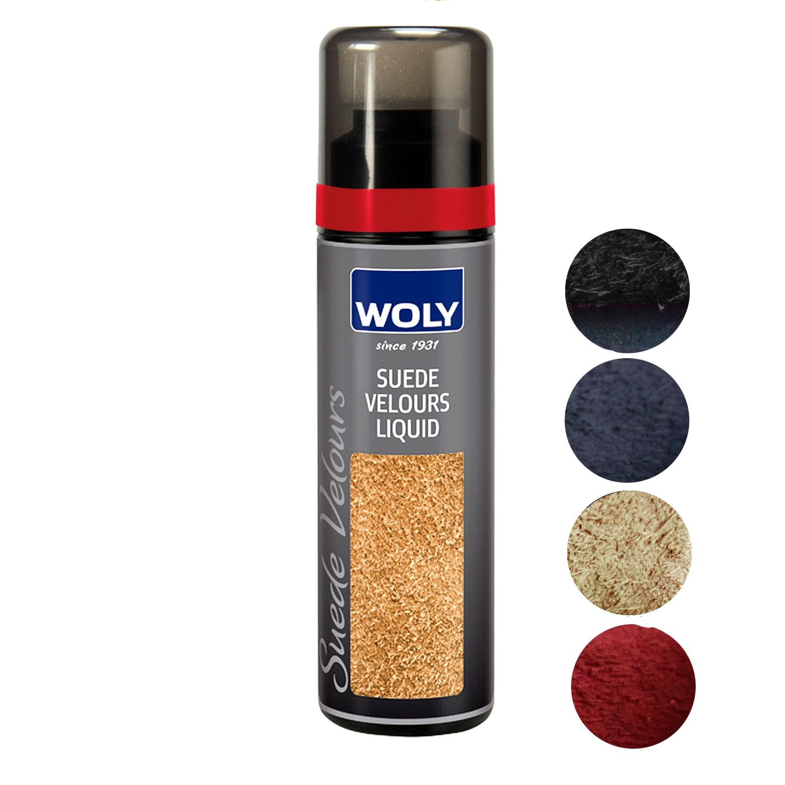 Woly Suede Velour  Renovator For Suede & Fabrics Select Colour
