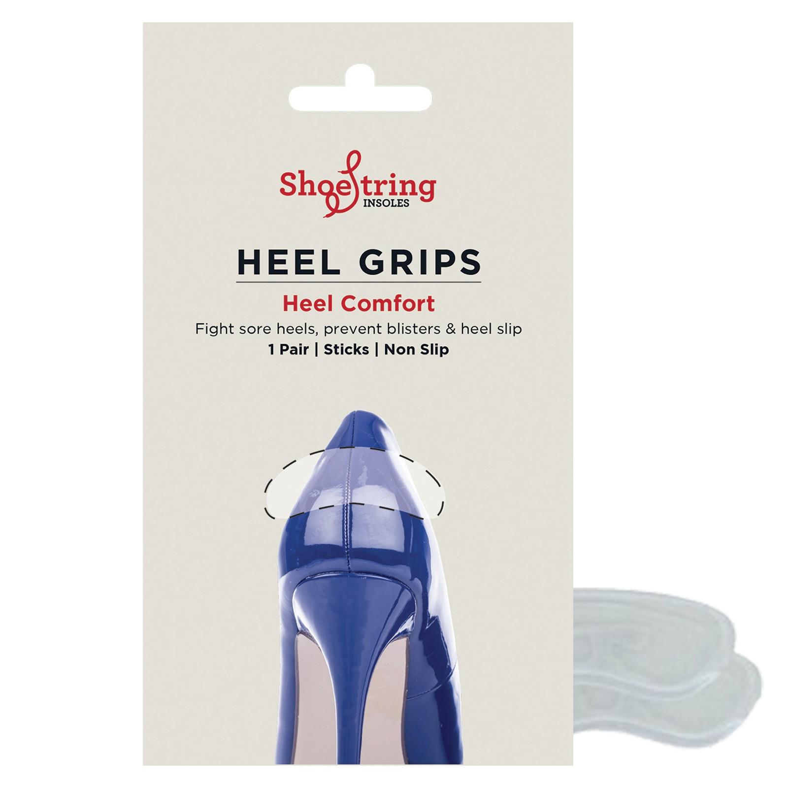Shoe String Gel Heel Grip Pair