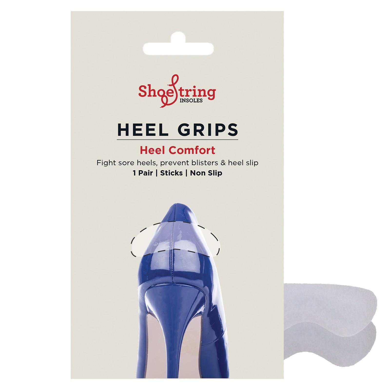 Shoe String Suede Heel Grips Pair