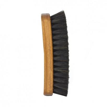 Shoe String Dark Polishing Brush Deluxe Horse
