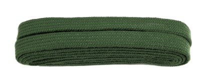 Green Flat 9mm Laces