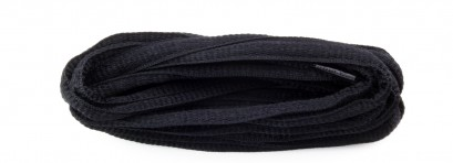 Black Oval Laces 6mm