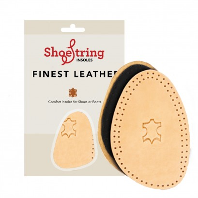 Shoestring Insoles Leather Deo Half Sole