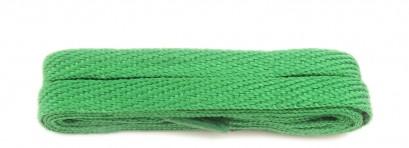 Green 120cm American Flat 10mm Laces