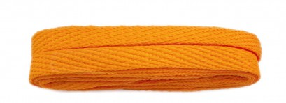 Orange 120cm American Flat 10mm Banded