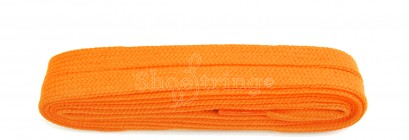 Flat 9mm Flo Orange 100cm