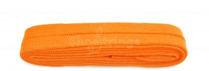 Flat 9mm Flo Orange 100cm