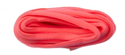 Flo Pink Oval Laces 6mm 220cm