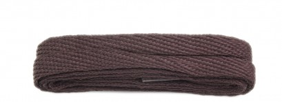 Brown 120cm American Flat 10mm Laces