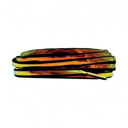 Black 90cm Gold Larme