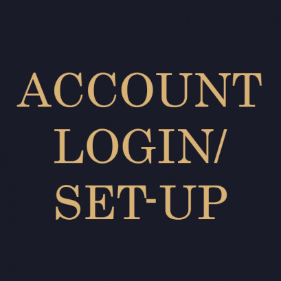 Account Sign-up/login