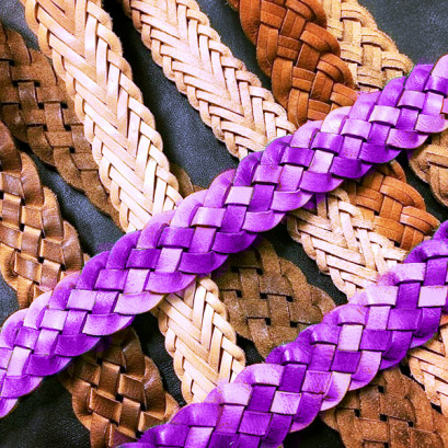 Plaited Leather Care