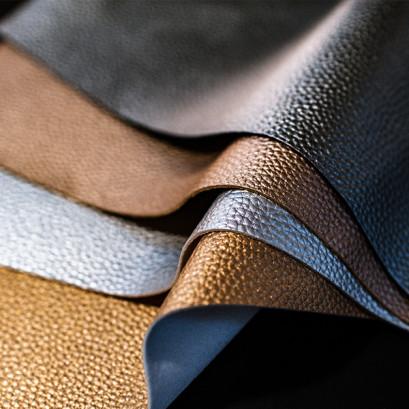 Metalilc Leather