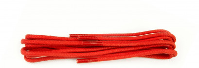 Red Waxed 3mm Round Laces