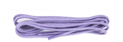 Lilac Waxed 3mm Round Laces