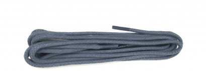 Grey Waxed 3mm Round Laces