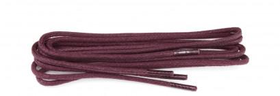 Bordeaux Waxed 3mm Round Laces
