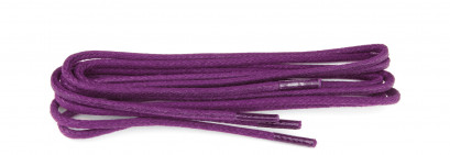Fuchsia 75cm Waxed 3mm Round Laces
