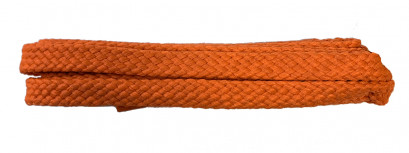 Orange 120cm Flat Cx Banded