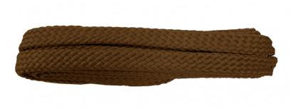 Tan 120cm Flat Cx Laces
