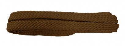 Brown 120cm Flat Cx Banded