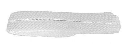 White 120cm Flat Cx Banded