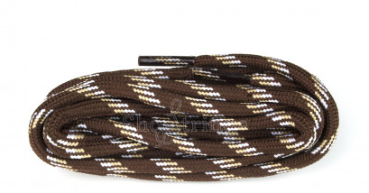 Hiking 150cm Brown Mix Poly Cord