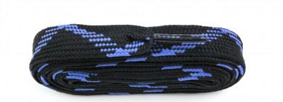 Cobalt/black Fat Laces 114cm