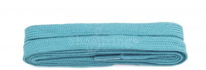 Aqua Blue 9mm Flat Laces, 100cm
