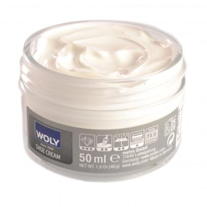 Woly White Cream Polish 50ml