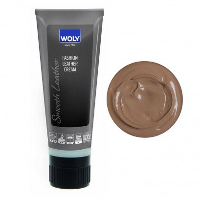 Woly Fashion Leather Cream Brown Light 75ml
