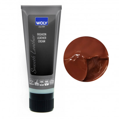 Woly Fashion Leather Cream Brown Med 75ml